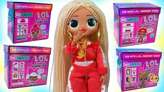 LOL Surprise Big Sisters Furniture Box Blind Bags for Beauty Salon + Clothing Boutique NEW Video