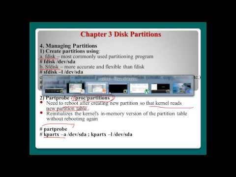 Linux Filesystem Management - part 1/2