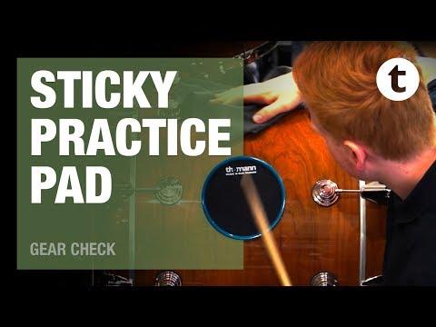 Super Sticky Thomann Drum Practice Pad