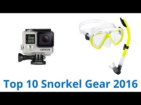 10 Best Snorkel Gear 2016
