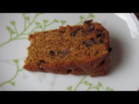 Eggless Fruit Loaf Recipe from 1952