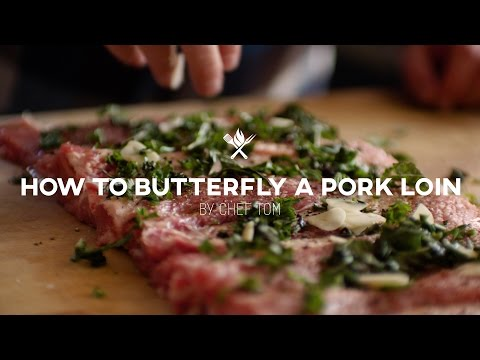 How to Butterfly a Pork Loin | Tips & Techniques by All Things Barbecue