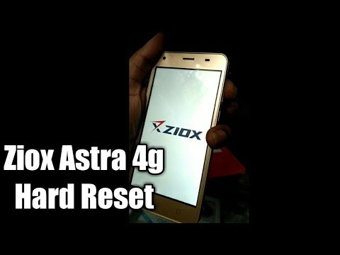 Ziox astra 4g hard reset and pattern unlock