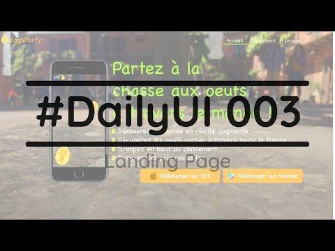 #DailyUI 003 - Le role de la typographie