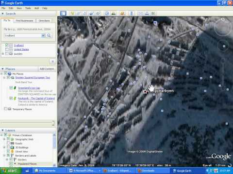 How to make a placemark in google earth.avi