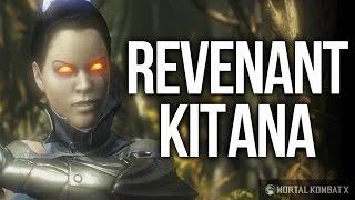 Mortal Kombat X - How to Unlock Revenant Kitana Costume