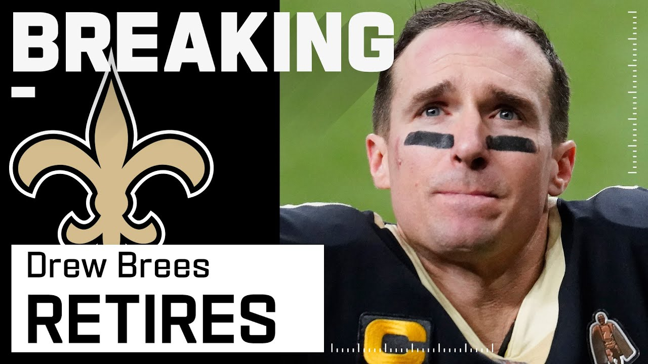 Drew Brees Retires After 20 NFL Seasons