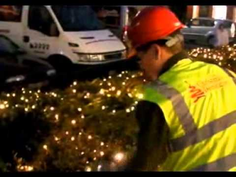 Cheshire Oaks Christmas Installation