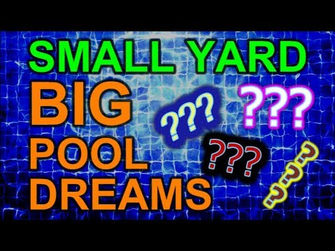 Small Yard Big Pool Dreams Episode 11 - The Hardest Part of Installing a Pool