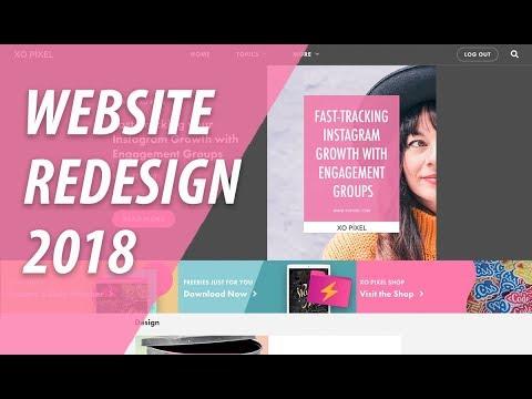 Website Redesign 2018 | XO PIXEL