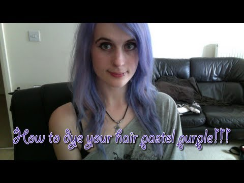 How to get pastel purple/lilac hair!