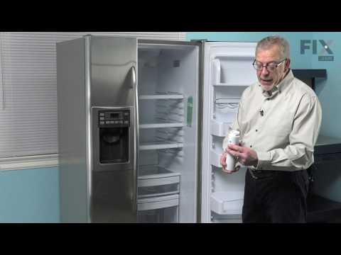 GE Refrigerator  Repair – How to replace the Water Filter