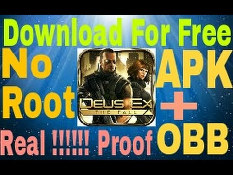 How to download Deus Ex The Fall for free in Android (English)