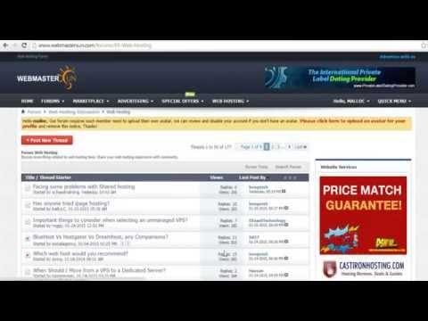 5 Minutes Review The Largest Internet Marketing Forum - WebmasterSun.com