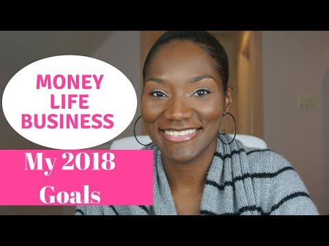 #goals2018   Happy New Year!🎉   My Goals for 2018   Money, Life, Business   FrugalChicLife