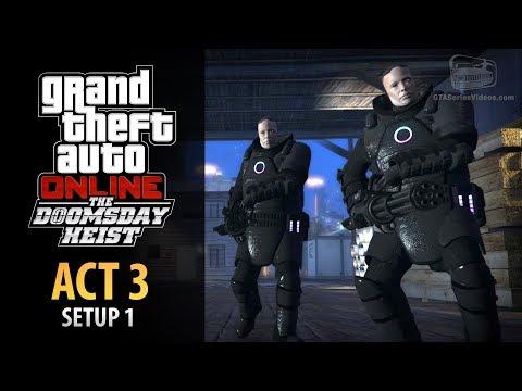 GTA Online: Doomsday Heist Act #3 - Setup: Rescue Agent 14 (Elite & Mastermind II)
