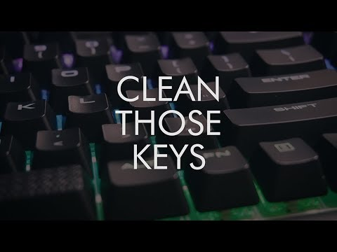 How to clean your Mechanical Keyboard!