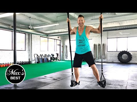 10 MIN. TRX FULL BODY WORKOUT | Quick Full Body TRX Workout LIVE!