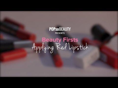 Beauty Firsts - Applying Red Lipstick - POPxo Beauty
