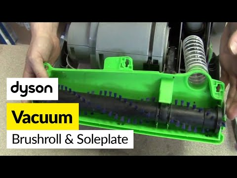 How to replace the Dyson brushbar and soleplate on a Dyson DC04 vacuum cleaner