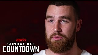 Playing in the Kansas City Chiefs offense is fun – Travis Kelce | NFL Countdown