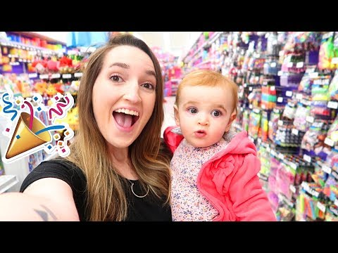 SHOPPING FOR BABY'S 1st BIRTHDAY!