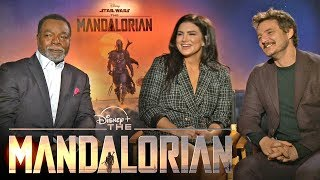 'The Mandalorian' Cast on Joining the 'Star Wars' Universe (Full Interview)