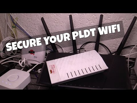 Secure your PLDT WiFi today!
