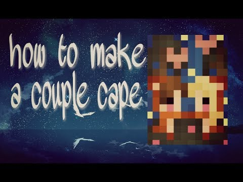 Pixel gun 3D: How to make couple cape | touch tutorial | free copy | old request