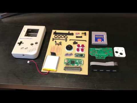 Game Boy Zero Full Build Intro
