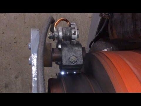 DC Motor Brush Arcing