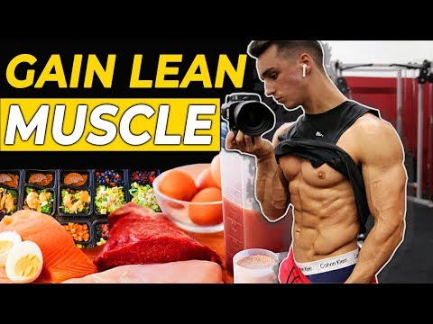 Lean Bulking FULL DAY OF EATING Diet Revealed (Build Lean Muscle)