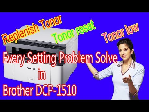 Every Setting Problem Solve in Brother DCP-1510. Printer problem solve.