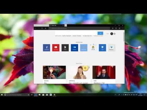 Windows 10 Sets - Apps in Tabs (Vorschau)