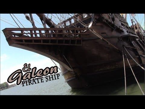 Real Life Pirate Ship! - El Galeon - Spanish Merchant Ship - Matt's Rad Show