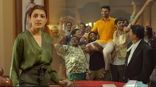 Janaki Nayakan Malayalam Movie Scenes | Kajal Agarwal Abusive Behaviour With Srinivas