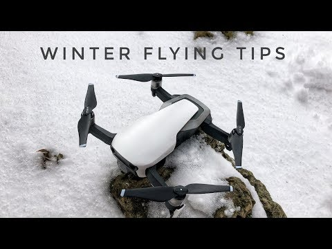 Tips for Flying Mavic Air In The Winter / Cold Climates