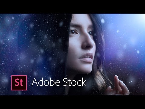 Photoshop CC Quick Compositing - Creating a Winter Wonderland using Adobe Stock