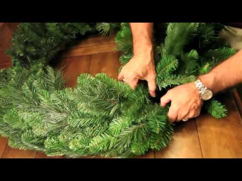 Christmas Pine Wreath Shaping with Steve Taylor Evergreen Lake of the Ozarks, MO