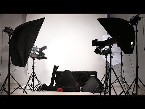 How to make a studio photoshoot at home (time lapse)