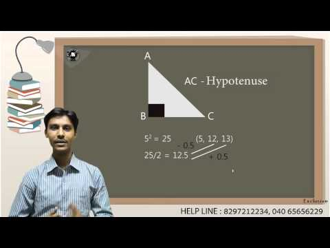 Copyrighted Shortcut to find Pythagorean Triplets - Mr. Ajay Kumar