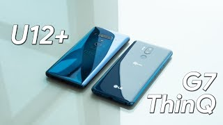 HTC U12+ vs LG G7 ThinQ first look