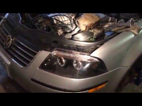 2001 VW Passat Crank Position Speed Sensor Location 2.8L 30V