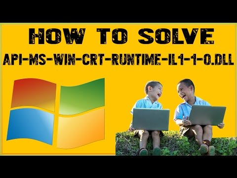 How To Fix Api-Ms-Win-Crt-Runtime-l1-1-0-Dll On Windows 7 OkayFreedom VPN error
