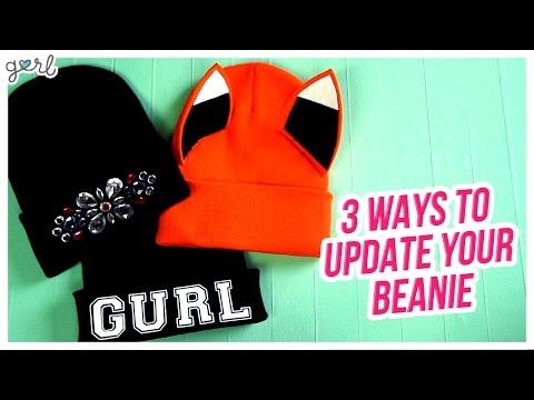 Do It, Gurl – 3 Ways To Update A Beanie