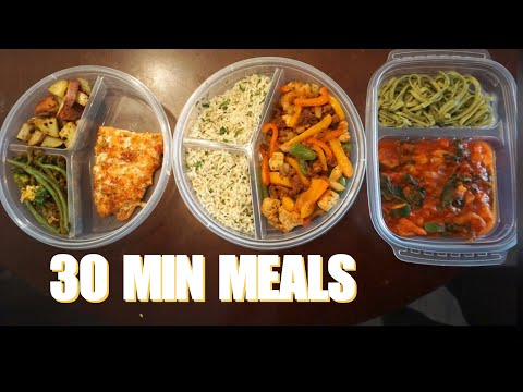 QUICK & EASY GOURMET MEAL PREPS
