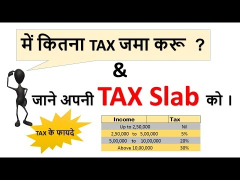 Income tax slab 2017-18 | How to calculate your income tax | Calculate tax