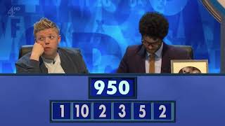"""That's called a Bic drop, y'all"" - Richard Ayoade's real life tnetennba moment in the numbers round"