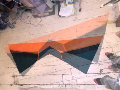 4 line stunt kite build January 18 - 21, 2013