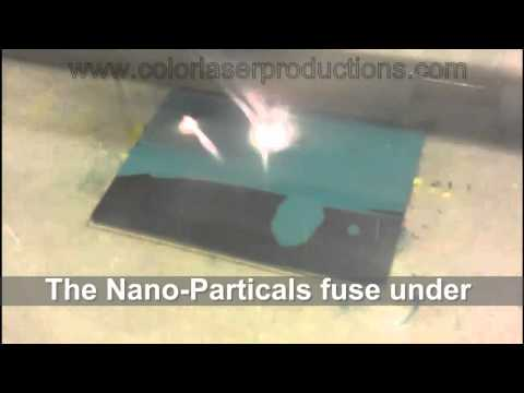 Laser Marking Ink Metal Green